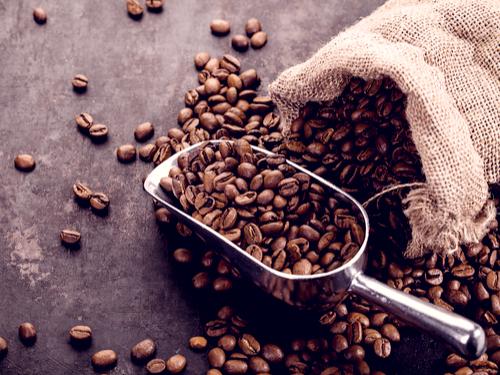 aquisição de café