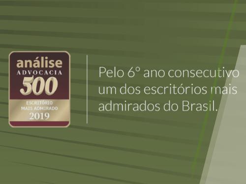 escritórios mais admirados do Brasil